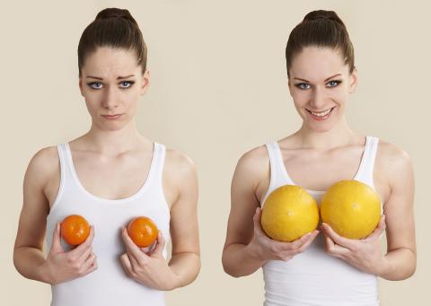 انتخاب سایز و نوع پروتز با نرم افزار شبیه ساز پروتز پستان